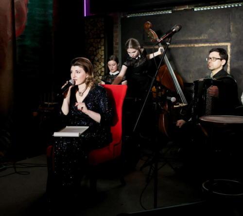 Лиана Давидян на сцене Культурных сред